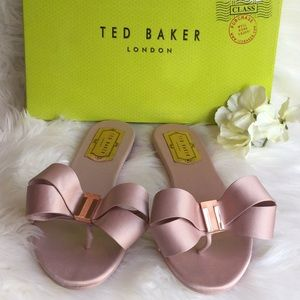 Ted Baker Beauita Satin Sandals NWT